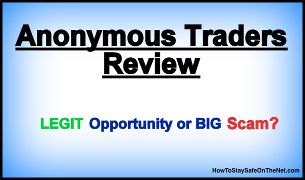 Anonymous Traders Review