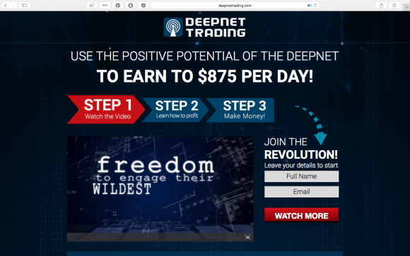 Is DeepNet Trading A Scam | DeepNet Trading Review
