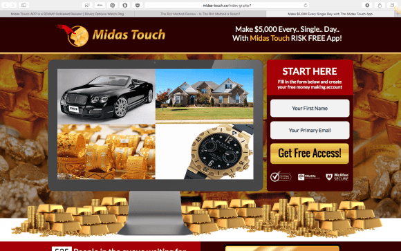Midas Touch APP Review   Is Midas Touch APP A Scam?