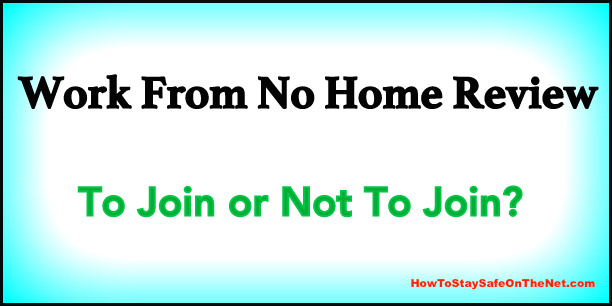 Work From No Home Review - What Is Work From No Home About